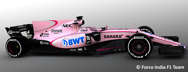 Sahara Force India -  VJM10 - 2017