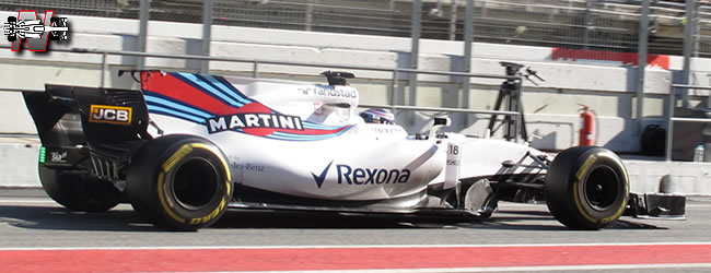 Williams - FW40 - 2017