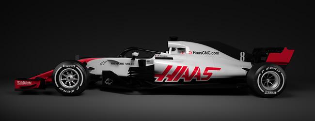Haas F1 - VF18 - 2018