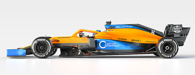 McLaren - MCL35 - 2020