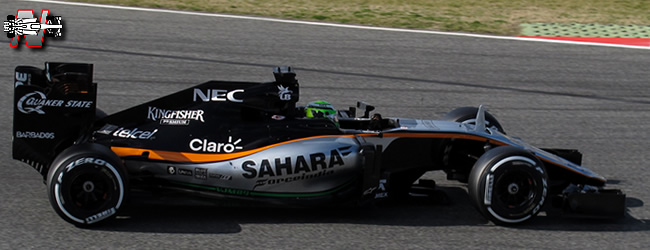 Sahara Force India -  VJM09 - 2016