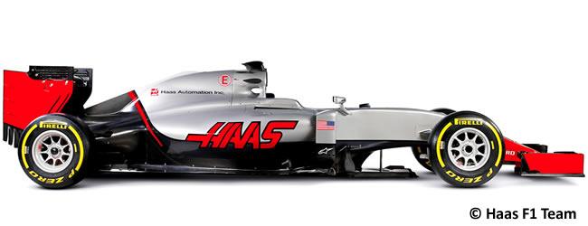 Haas F1 - VF16 - 2016
