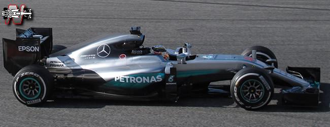 Mercedes AMG F1 - F1 W07 - 2016